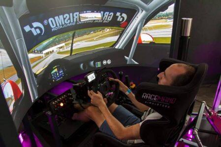 Polski symulator jazdy po Nurburgringu przetestowany osobiście przez Roberta Kubicę!